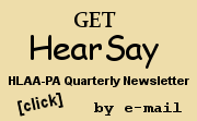 HearSay by e-mail